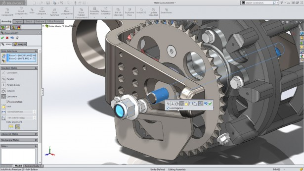 SolidWorks 2014 Sneak Peek: Lock Rotation for Cylindrical