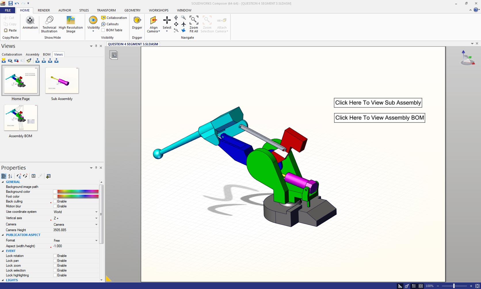 SOLIDWORKS Composer Linked Views | The SolidApps Blog