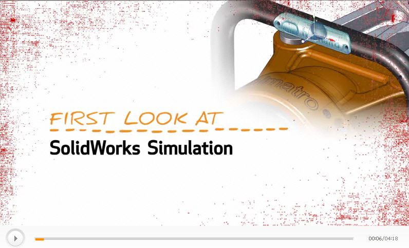 First Look at SolidWorks Simulation